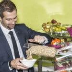 Buffet petit-déjeuner Hôtel Waldhorn Berne